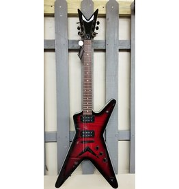 Dean Dean MLX Flame Top Trans Red