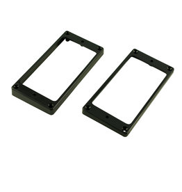 WD Music Products WD® Flat Plastic Humbucker Pickup Mounting Ring - Set of 2 - 1 High/1 Low