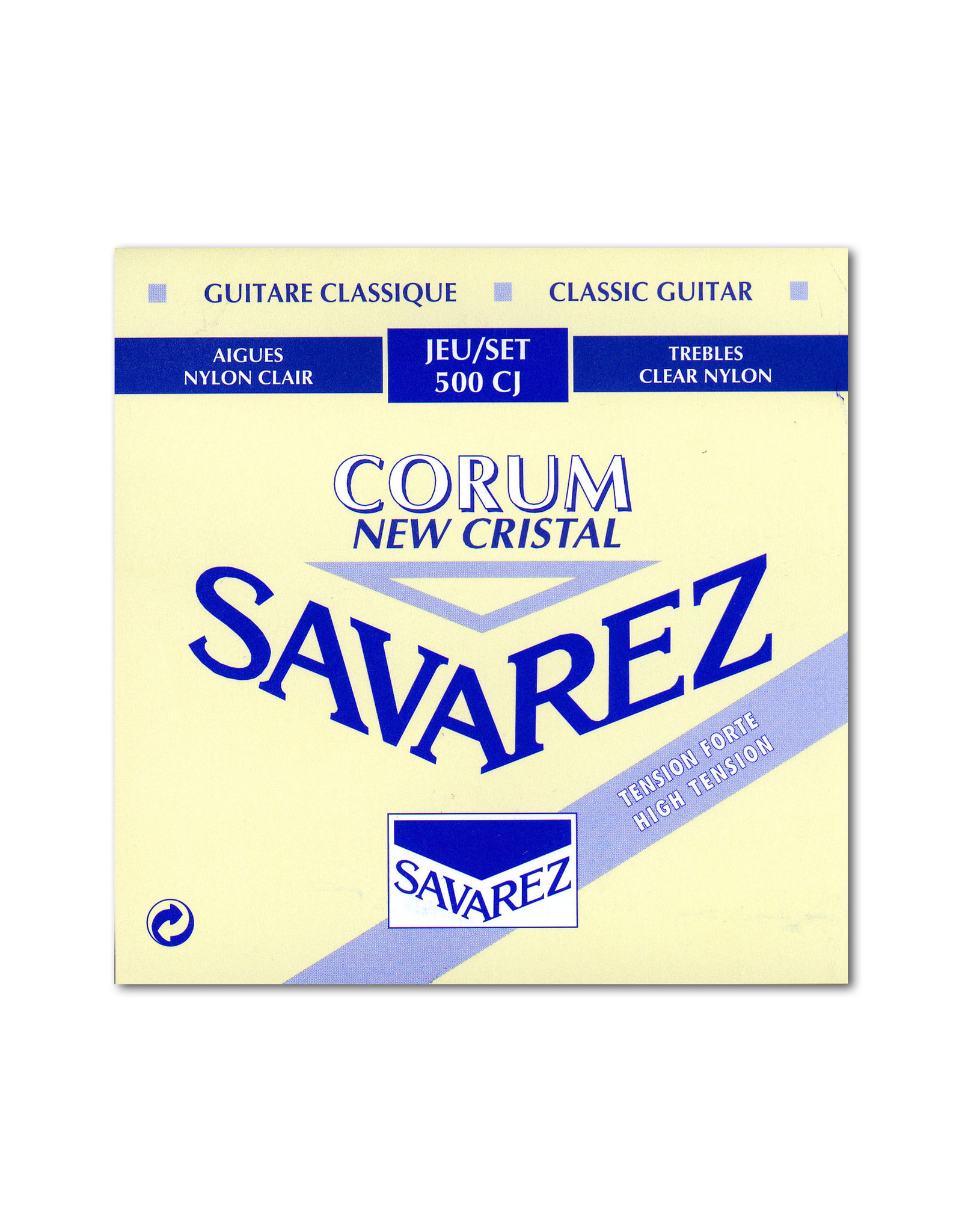 Savarez Savarez High Tension Cristal Trebles Corum Basses