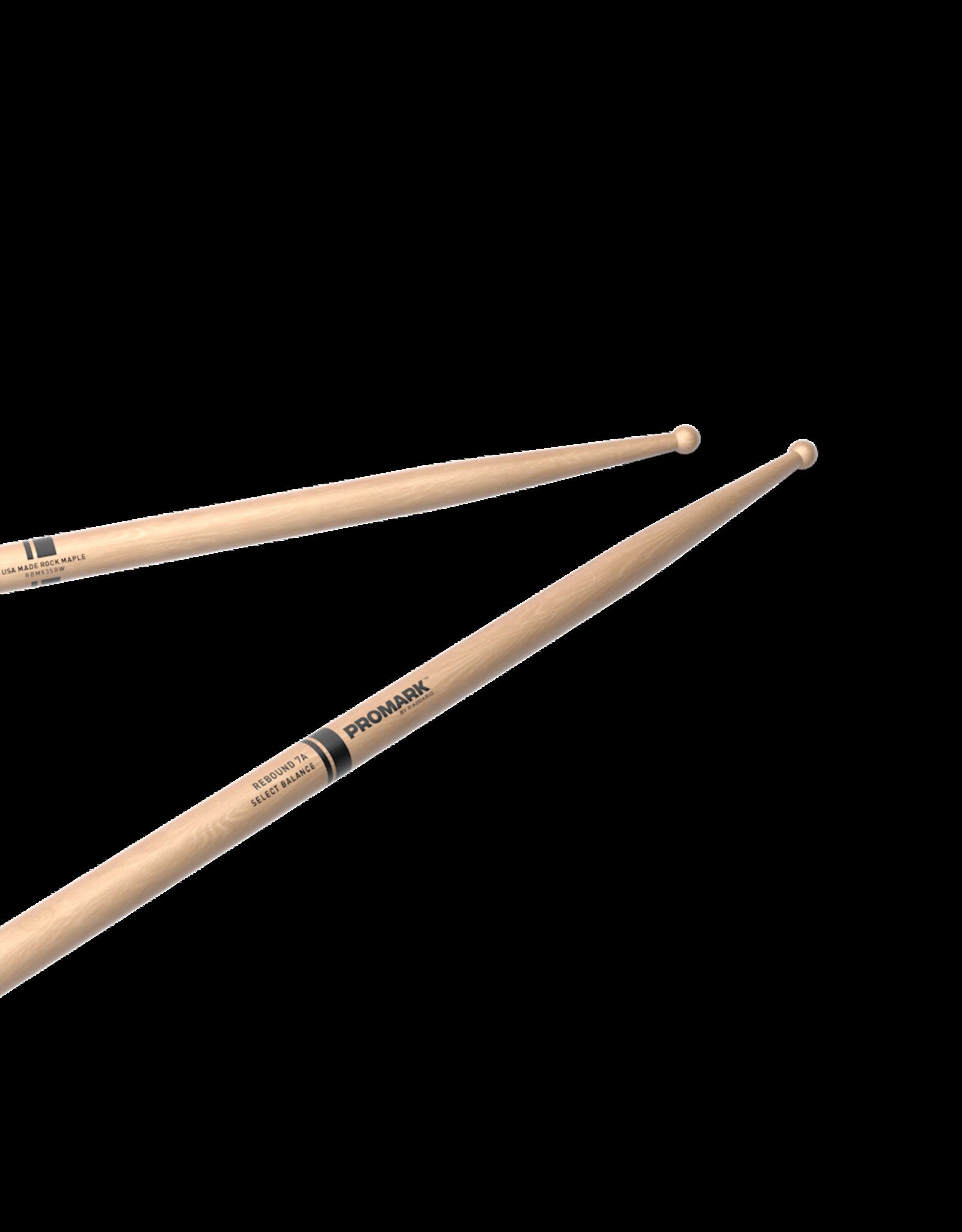 Promark Promark REBOUND 7A Maple Wood Tip Drumstick