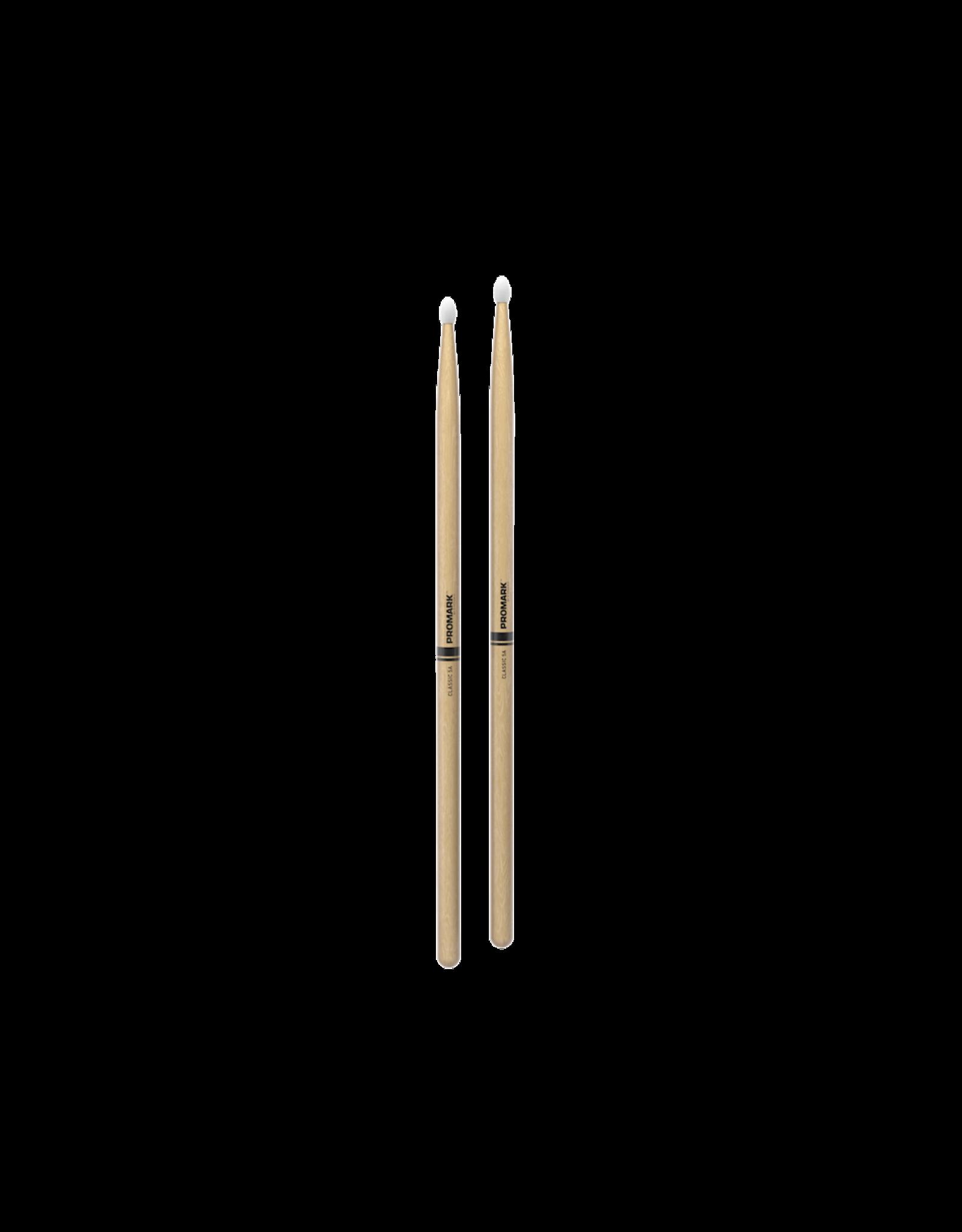 Promark Promark CLASSIC 5A Hickory Nylon Tip Drumstick