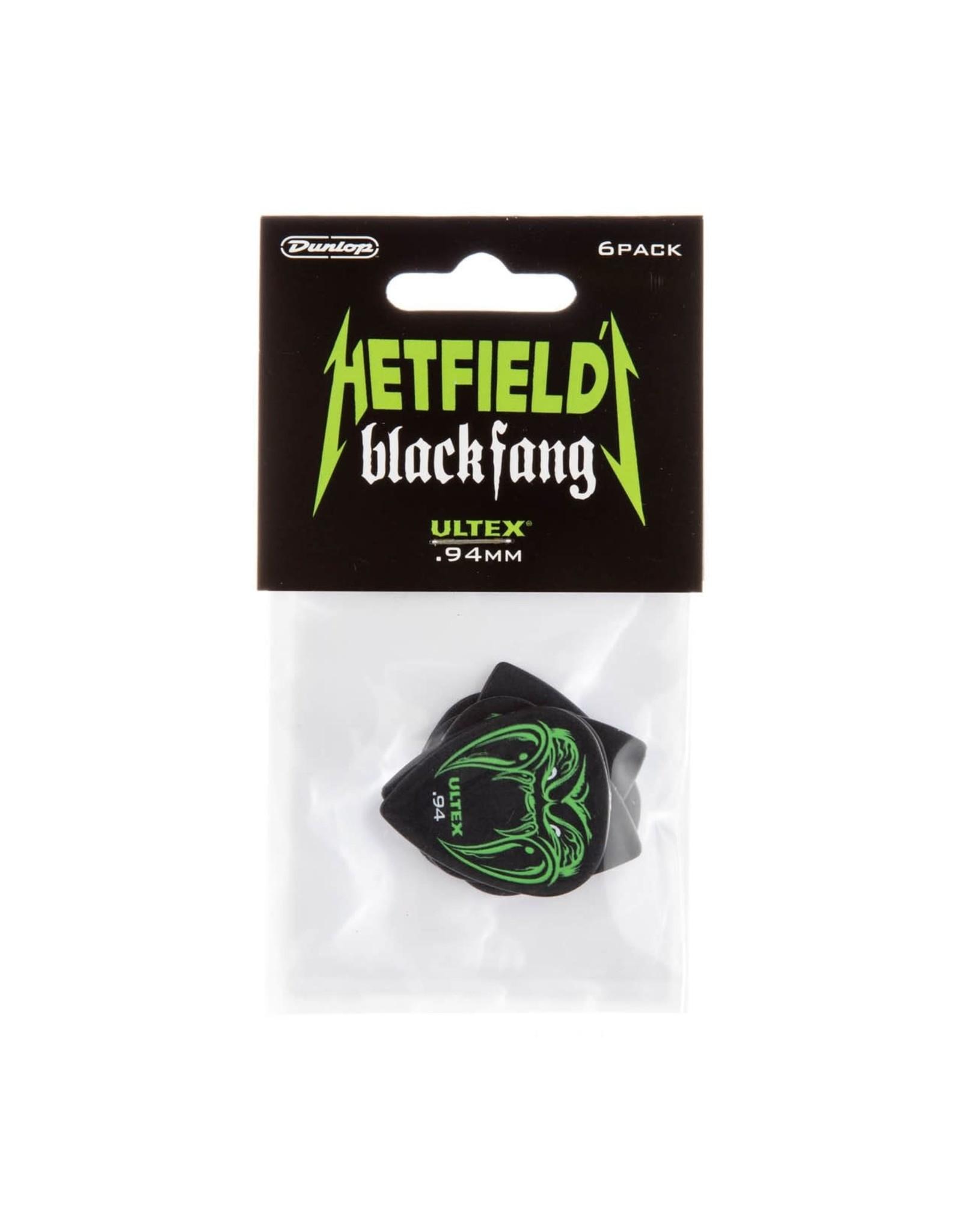 Dunlop Dunlop HETFIELD'S BLACK FANG PICK .94MM