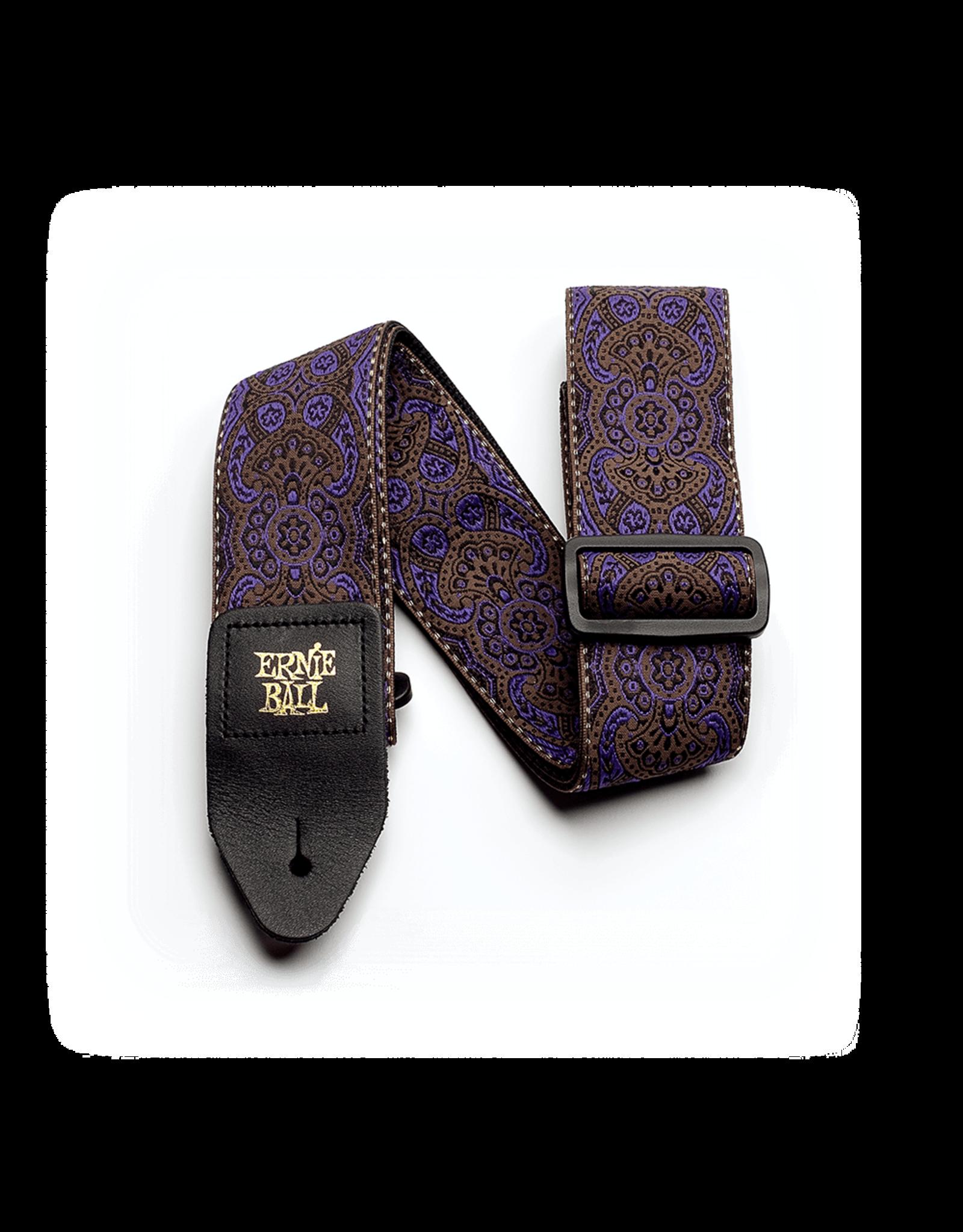Ernie Ball Ernie Ball 4164 Purple Paisley Jacquard Strap