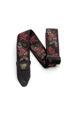 Ernie Ball Ernie Ball 4142 Red Rose Jacquard Guitar Strap