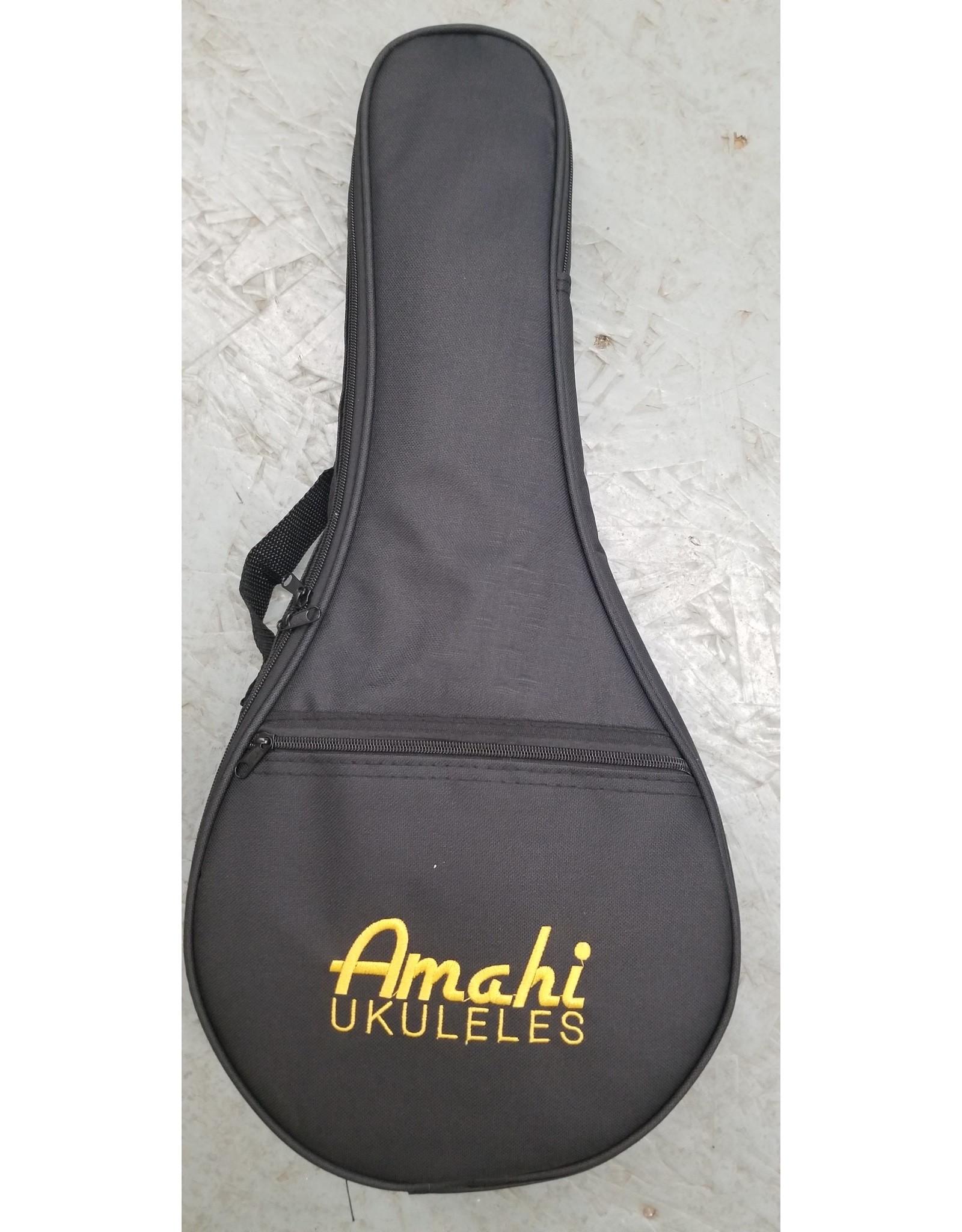Amahi Amahi Round Body Mahogany Concert Ukulele Aztec LR1