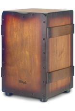 Stagg Stagg Standard-Sized Crate Cajón Sunburst Brown