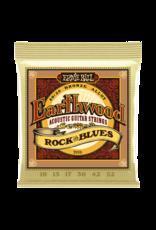 Ernie Ball Earthwood Rock and Blues w/Plain G 80/20 Bronze Acoustic - 10-52