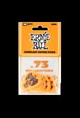 Ernie Ball Ernie Ball 9190 Orange Everlast Picks 12-Pack .73mm