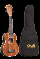 Amahi Amahi Select Mahogany, Bound, Soprano Ukulele