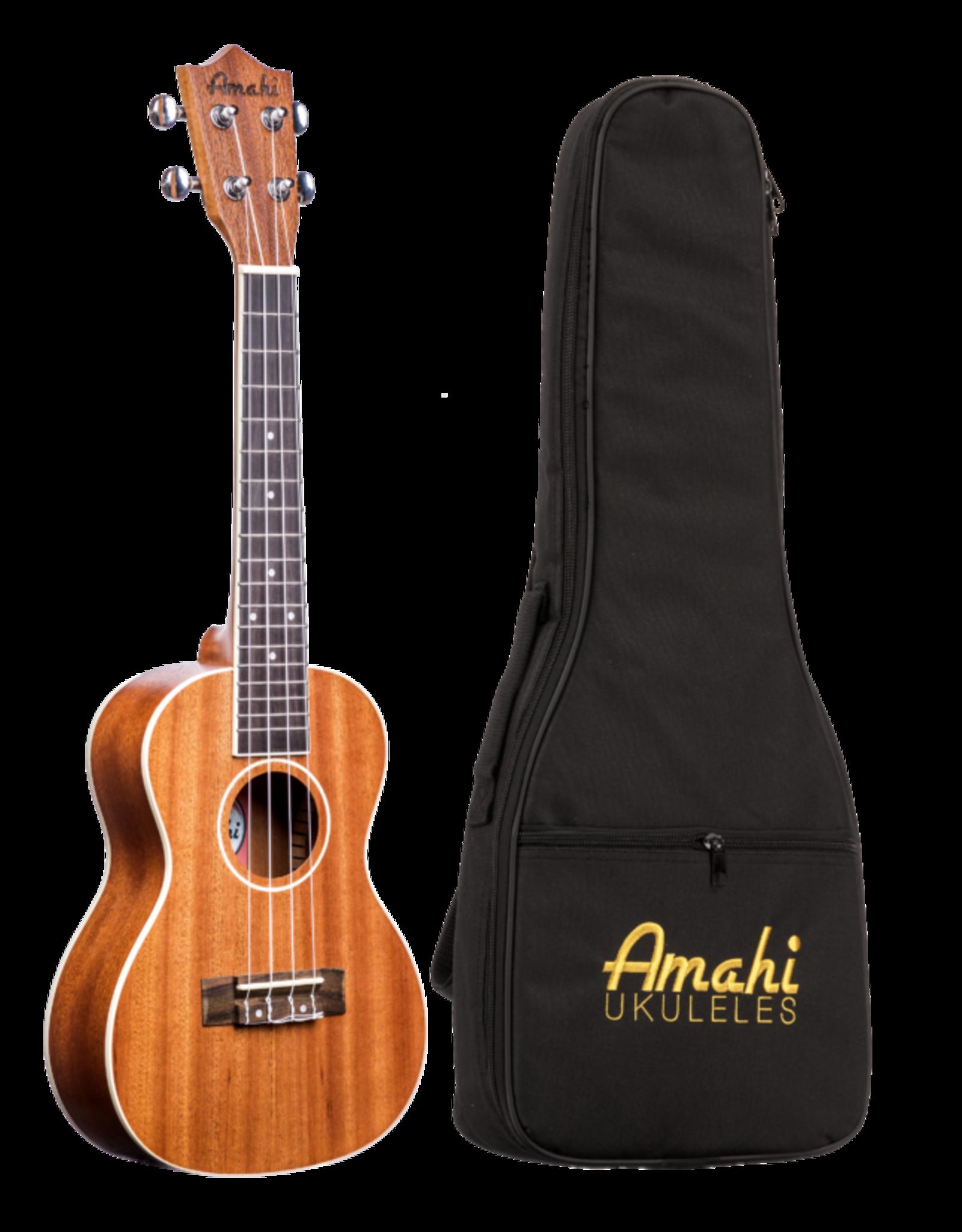 Amahi Amahi Select Mahogany, Bound, Concert Ukulele