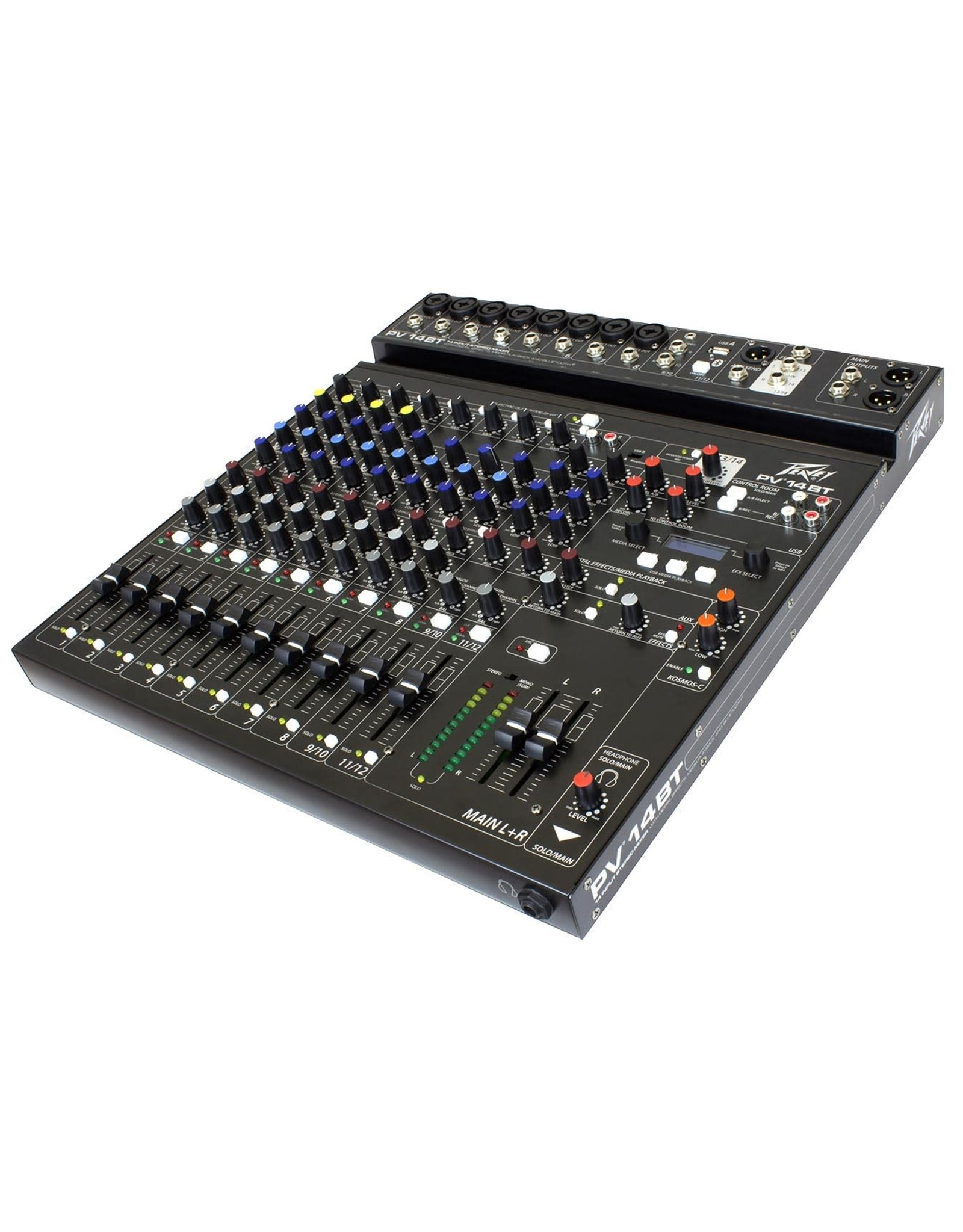 Peavey PV® 14BT Compact 14 Channel Mixer with Bluetooth