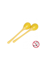 Stagg Stagg 2 pc Egg Maracas Yellow