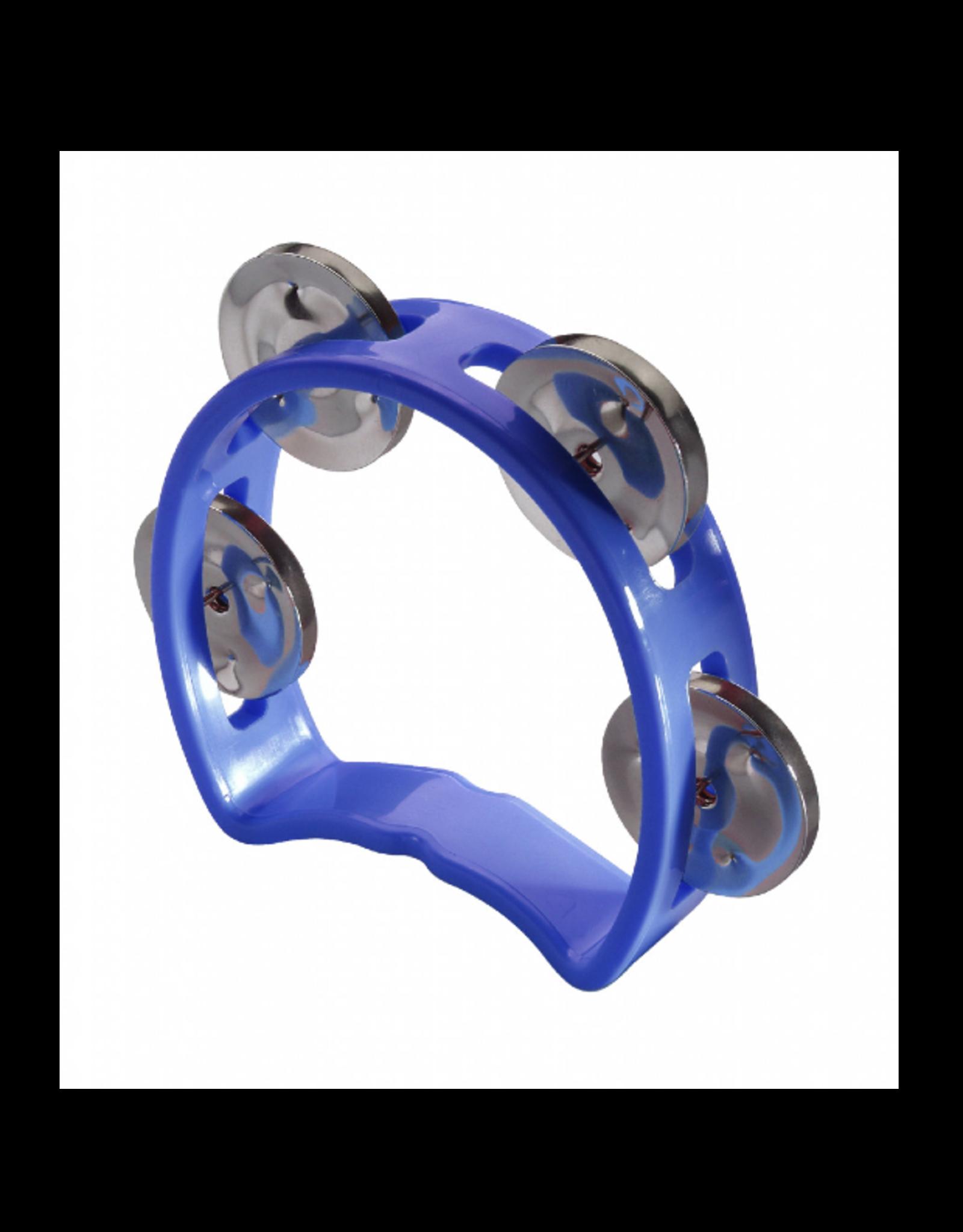 Stagg Stagg Plastic Cutaway Mini Tambourine Blue