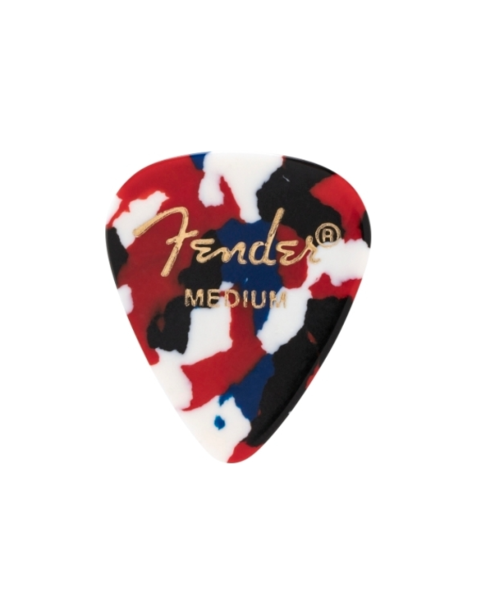 Fender Fender 351 Classic Celluloid Picks Confetti Medium 12 Pack