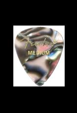 Fender Fender 351 Premium Celluloid Picks Abalone Medium 12 Pack