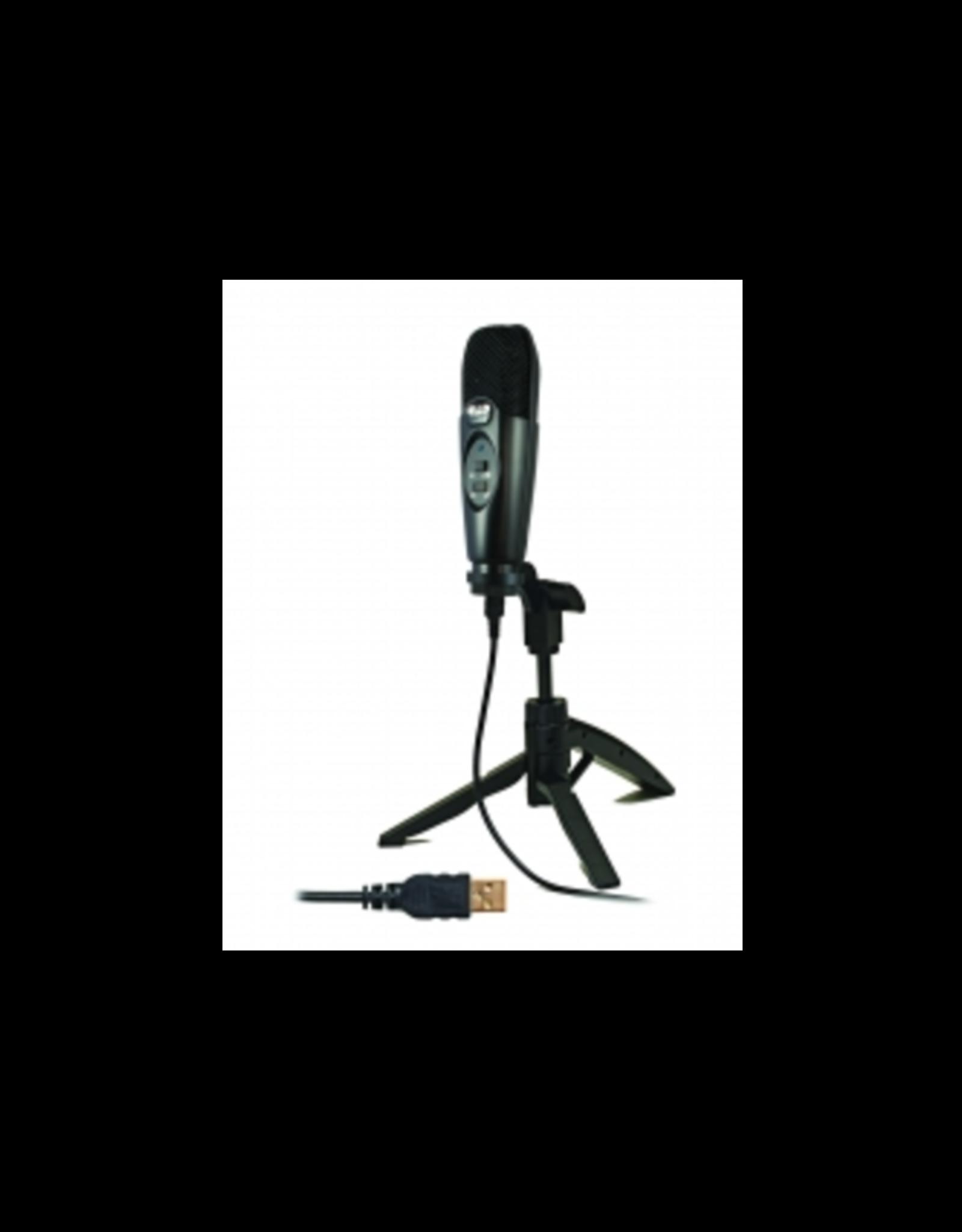 CAD CAD USB Large Diaphragm Cardioid Condenser Microphone w/Tripod Stand