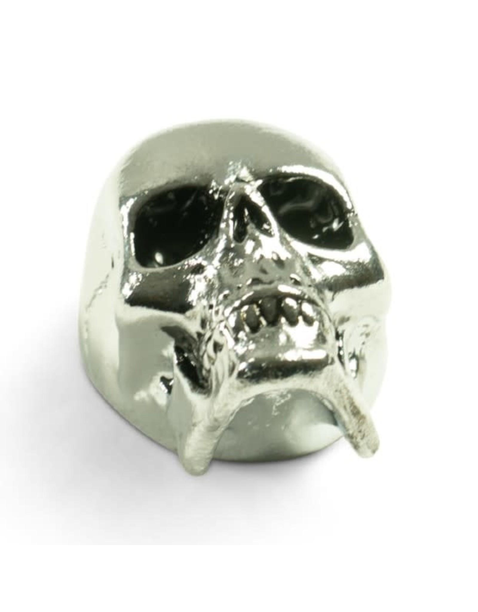 Q-Parts Q-Parts Jumbo Skull Knob II Chrome