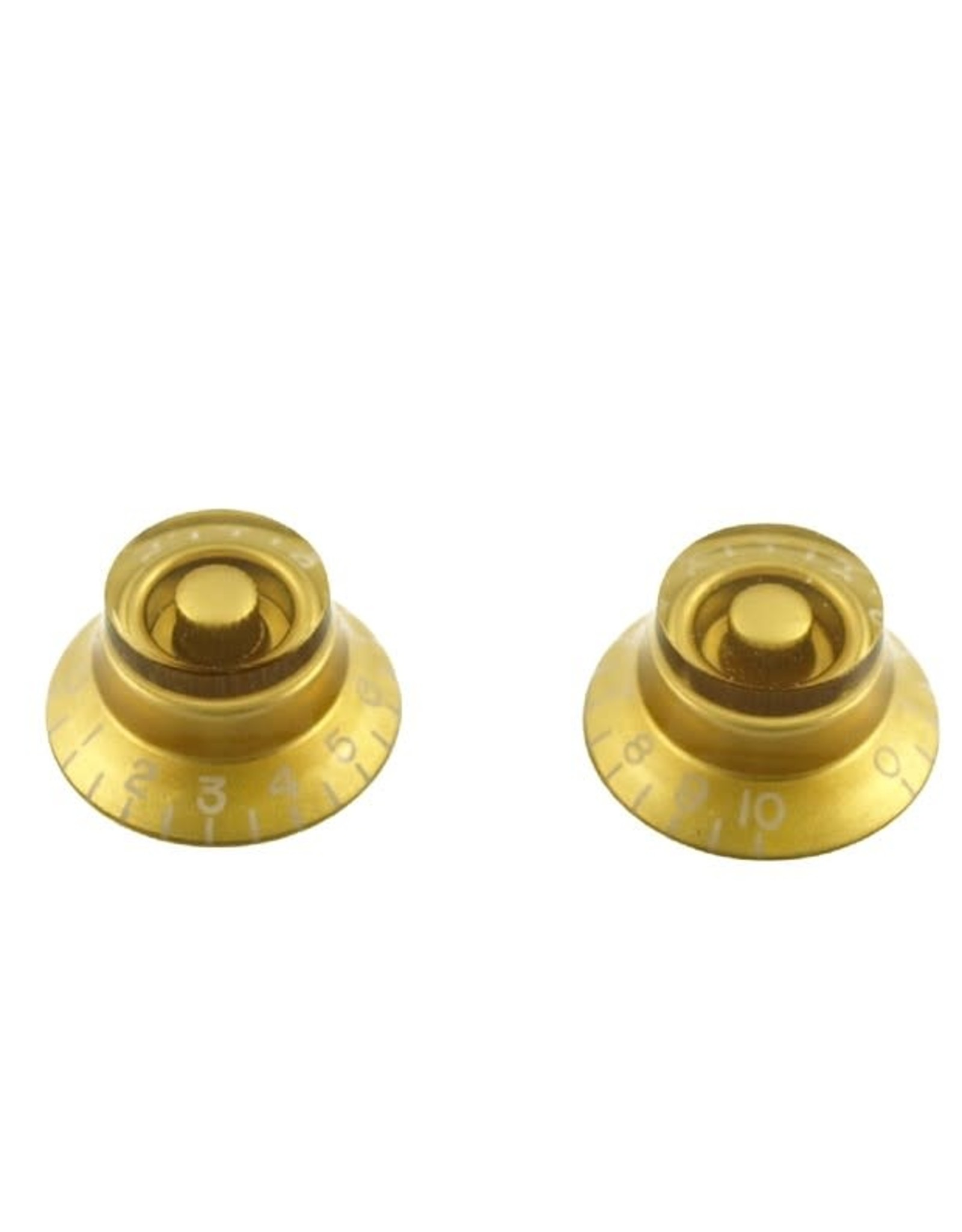 WD Music Products WD Bell Knob Set Of 2 Gold