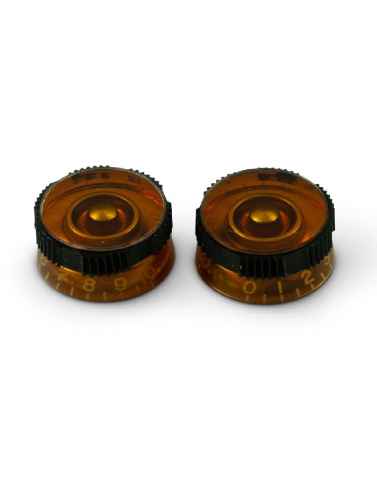 WD Music Products WD Non-Slip Speed Knob Set Of 2 Amber