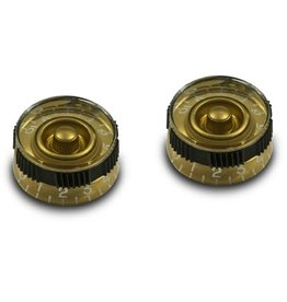 WD Music Products WD Non-Slip Speed Knob Set Of 2 Gold