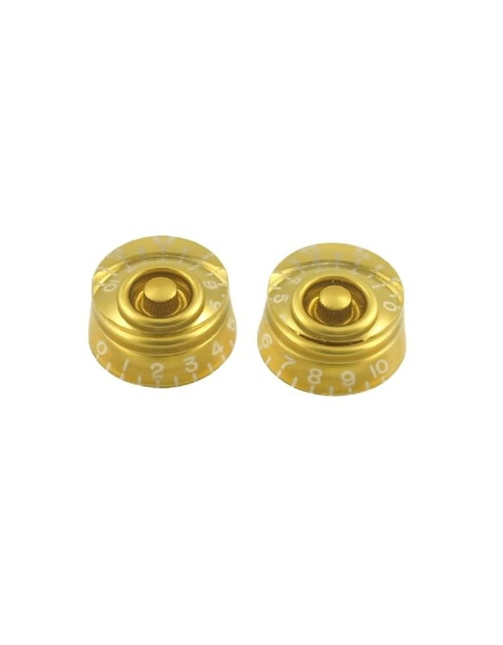 WD Music Products WD Speed Knob Set Of 2 Gold
