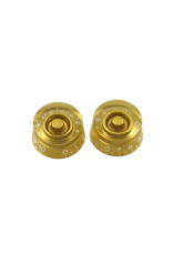 WD Music Products WD Speed Knob Set Of 2 Metric Gold