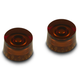 WD Music Products WD Vintage 50's Tall Speed Knob Set Of 2 Amber