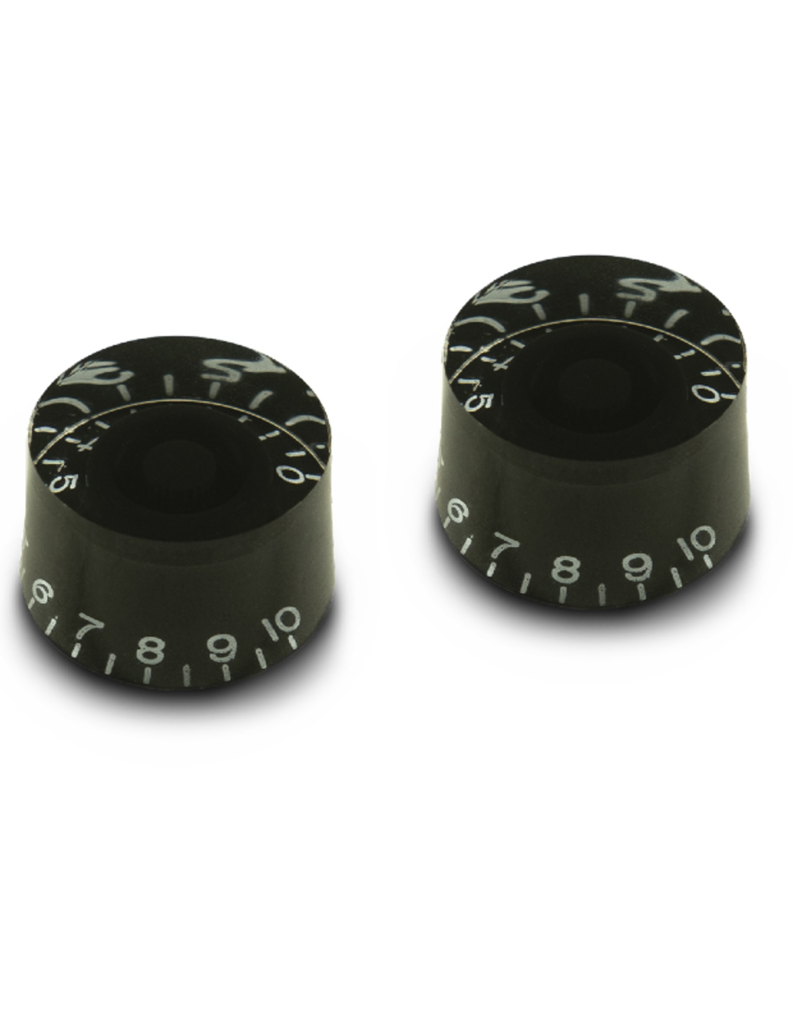 WD Music Products WD Vintage 50's Tall Speed Knob Set Of 2 Black