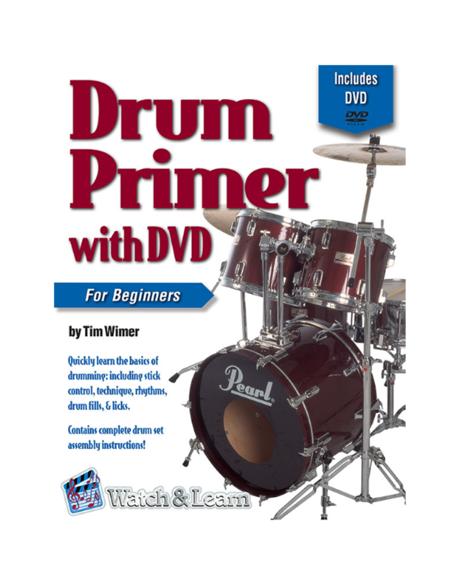 Watch & Learn Watch & Learn Drum Primer Deluxe Edition