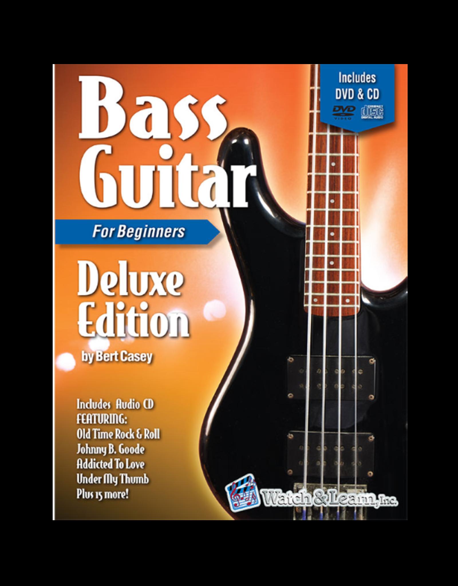 Watch & Learn Watch & Learn Bass Guitar Deluxe Primer