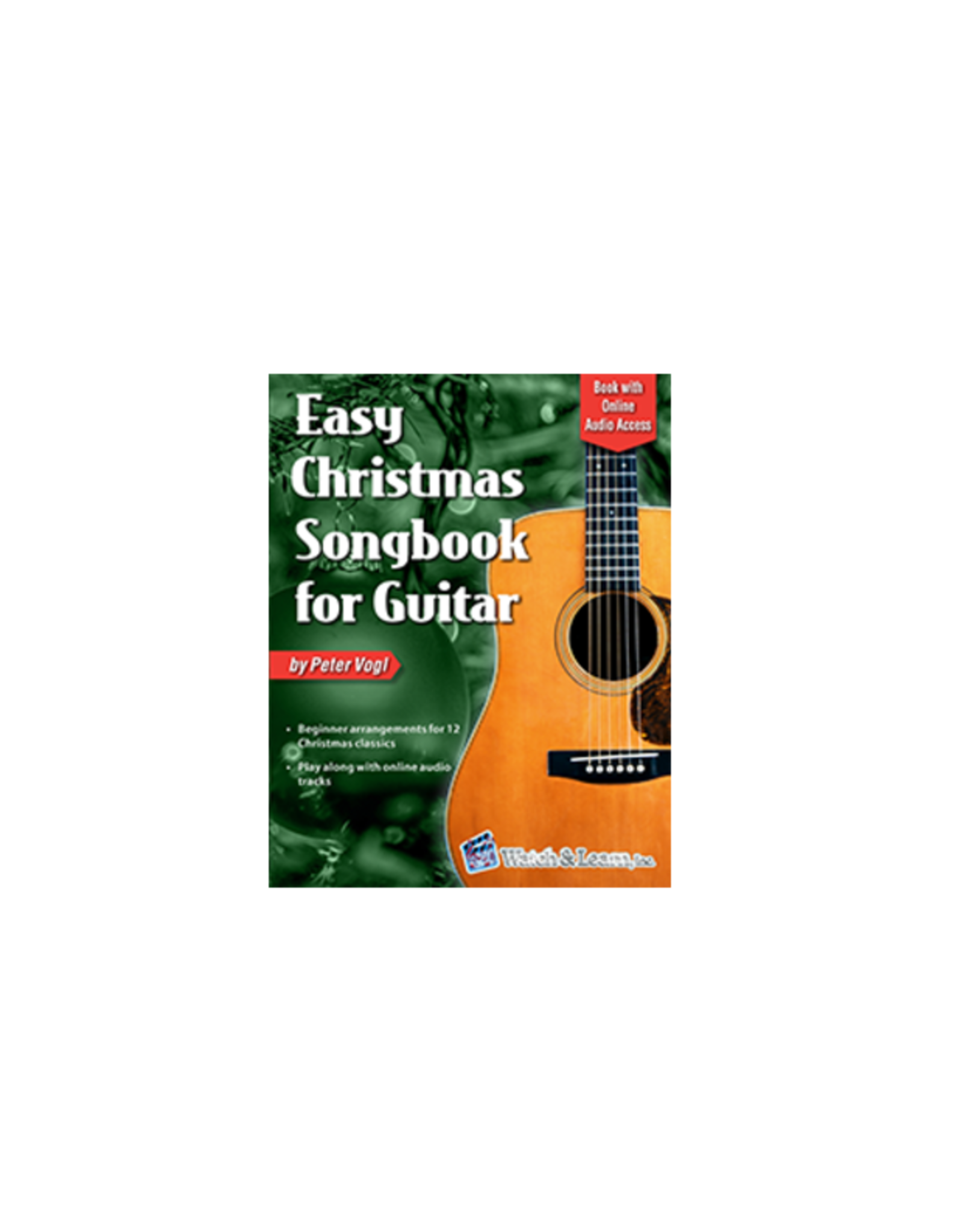 Watch & Learn Watch & Learn Easy Christmas Songbook for Guitar