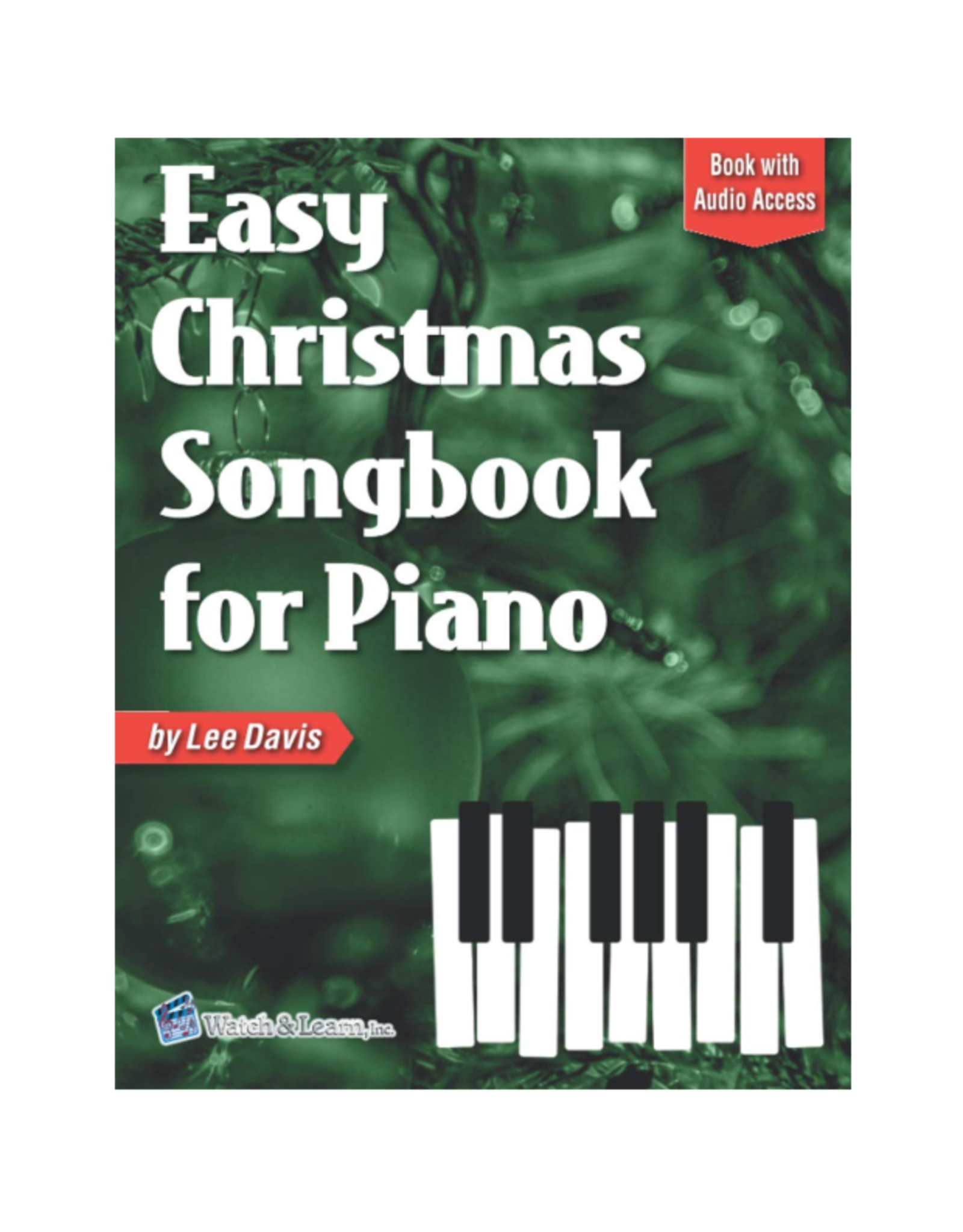 Watch & Learn Watch & Learn Easy Christmas Songbook for Piano