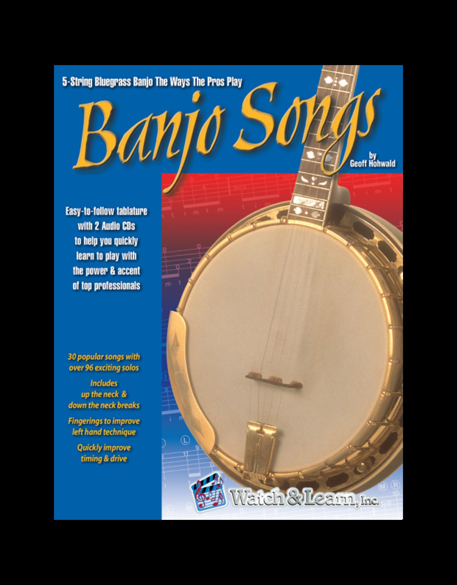 Watch & Learn Watch & Learn Banjo Songs