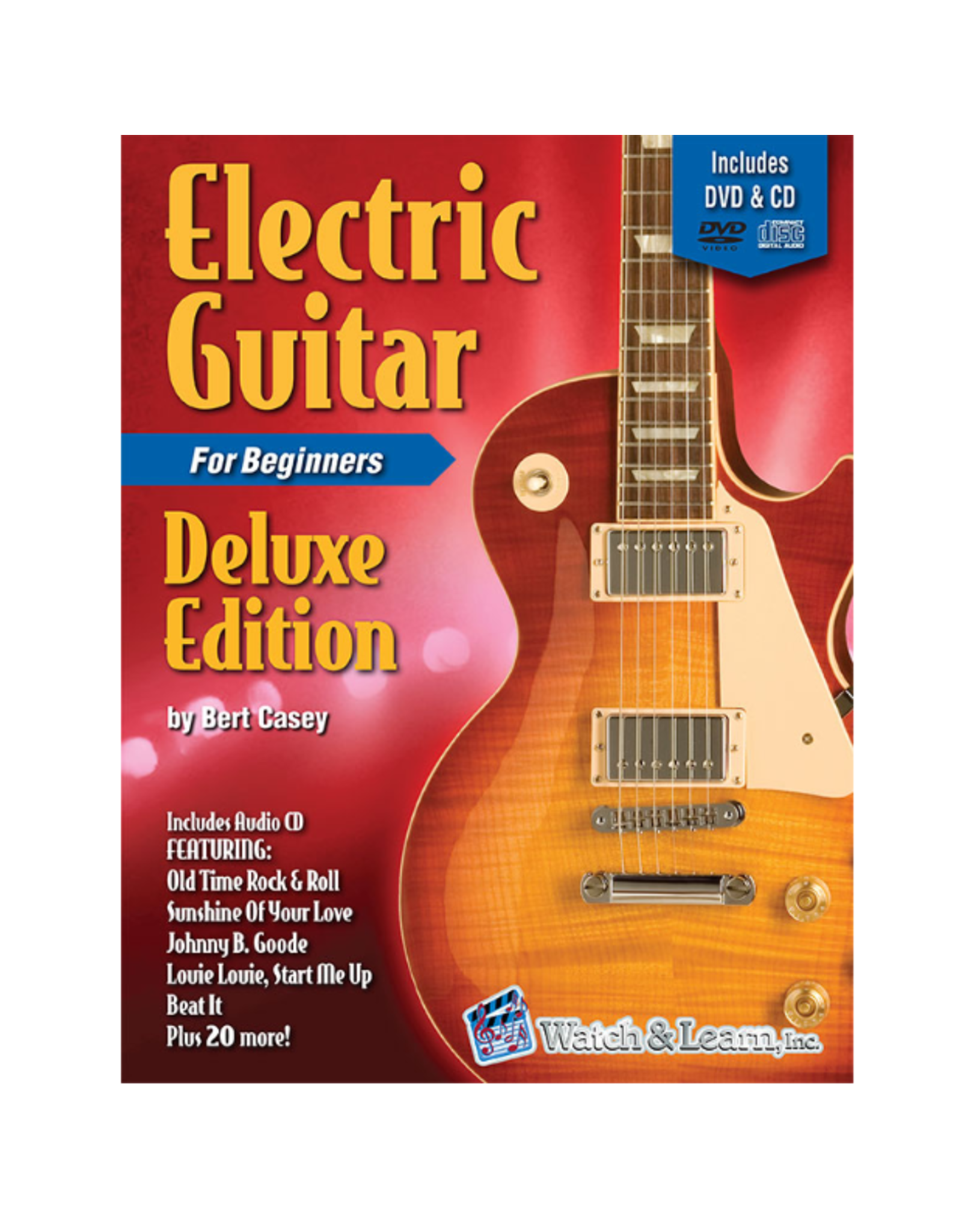 Watch & Learn Watch & Learn Electric Guitar Deluxe Edition