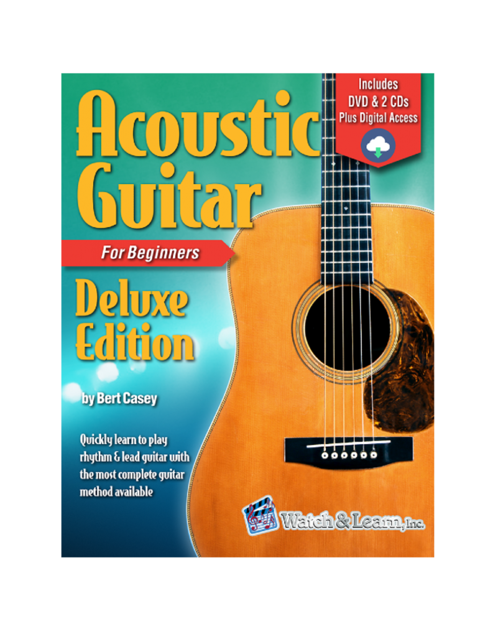 Watch & Learn Watch & Learn Acoustic Guitar Deluxe Primer