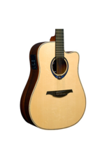 Lag Lag Guitars Tramontane HyVibe THV30DCE Dreadnought Acoustic-Electric Smart Guitar Natural