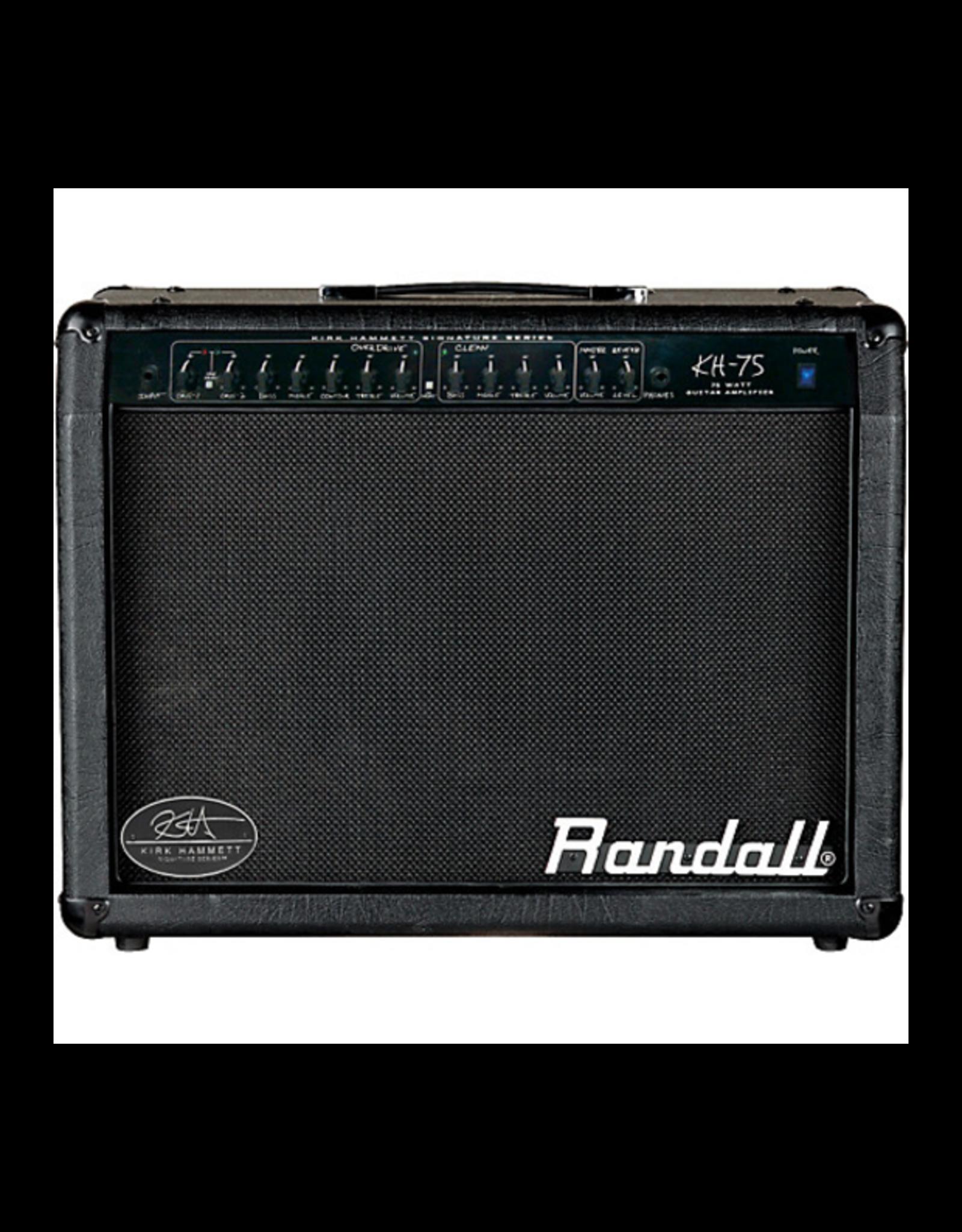 Randall Randall Kirk Hammett KH75 75W 1x12 Guitar Combo Amp Black