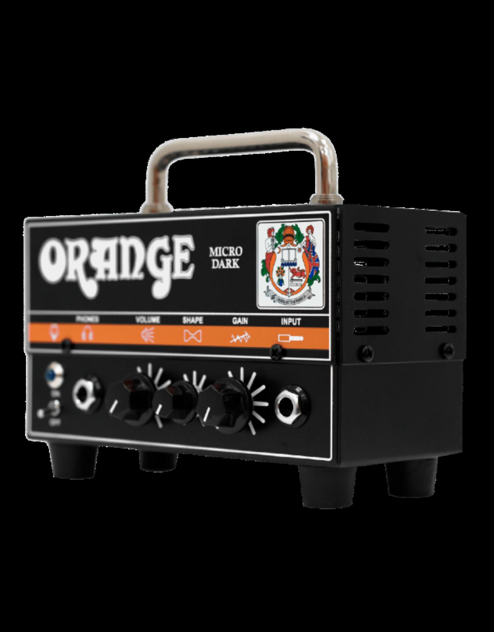 Orange Orange Micro Dark 20-Watt Guitar Amplifier Head