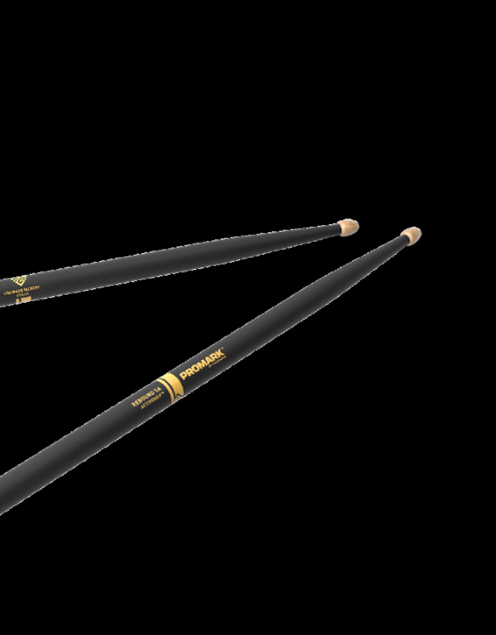 Promark Promark REBOUND 5A ACTIVEGRIP Hickory Wood Tip Drumstick