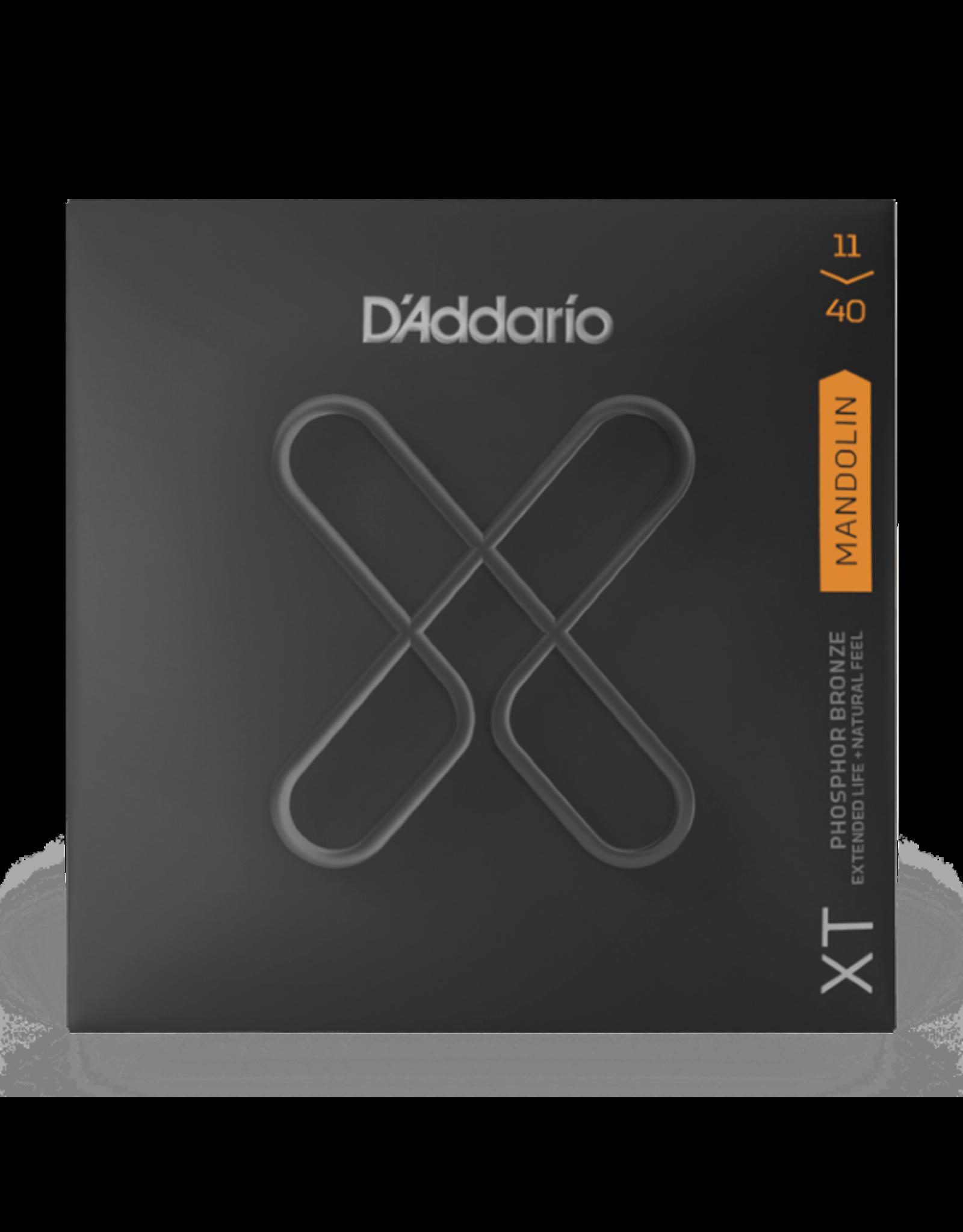 D'Addario D'Addario XT Phosphor Bronze Mandolin Strings Medium 11-40