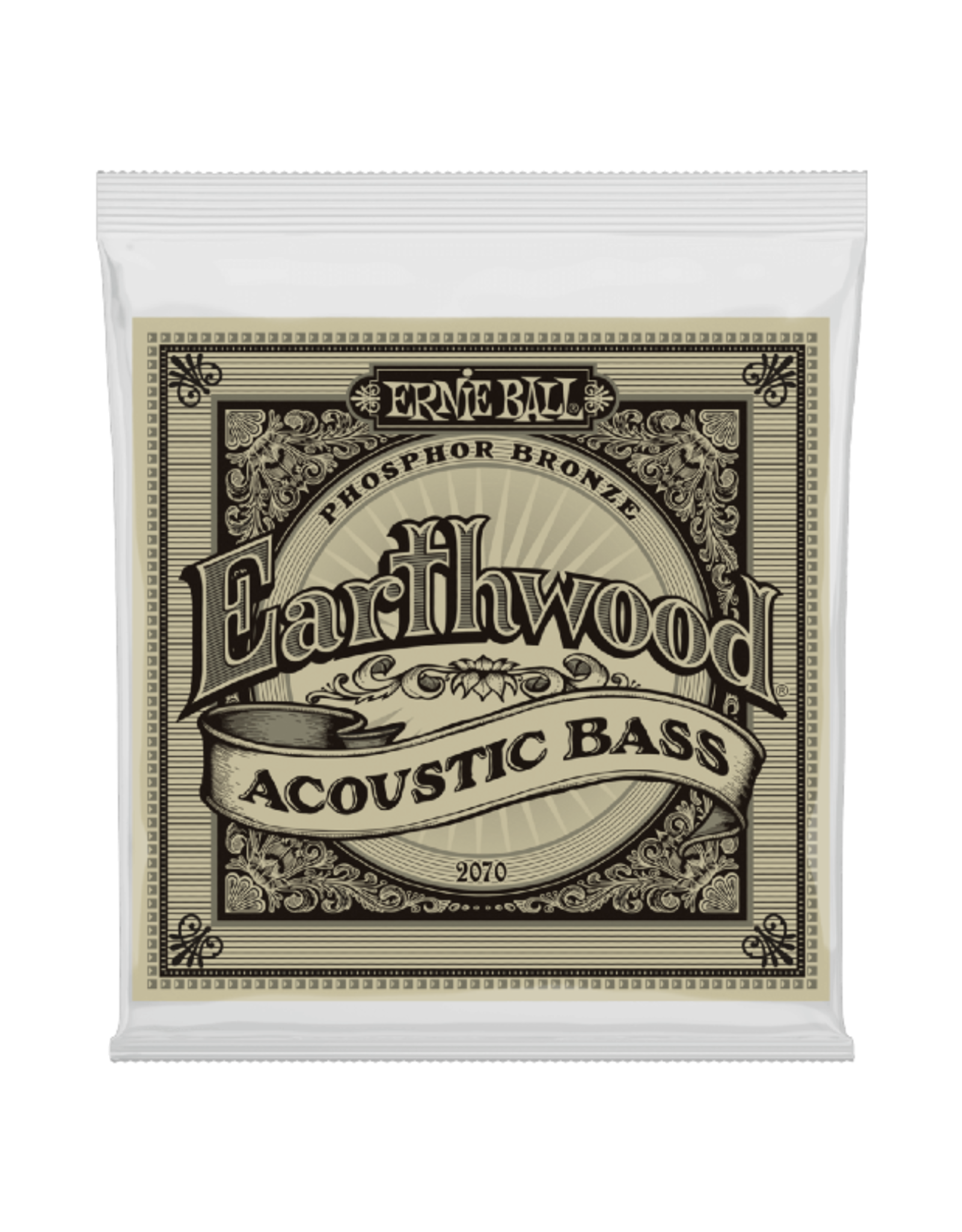 Ernie Ball Ernie Ball 2070 Earthwood Phosphor Bronze Acoustic Bass Strings - 45-95 Gauge