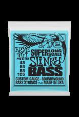 Ernie Ball Ernie Ball 2849 Super Long Scale Slinky Electric Bass Strings - 45-105 Gauge