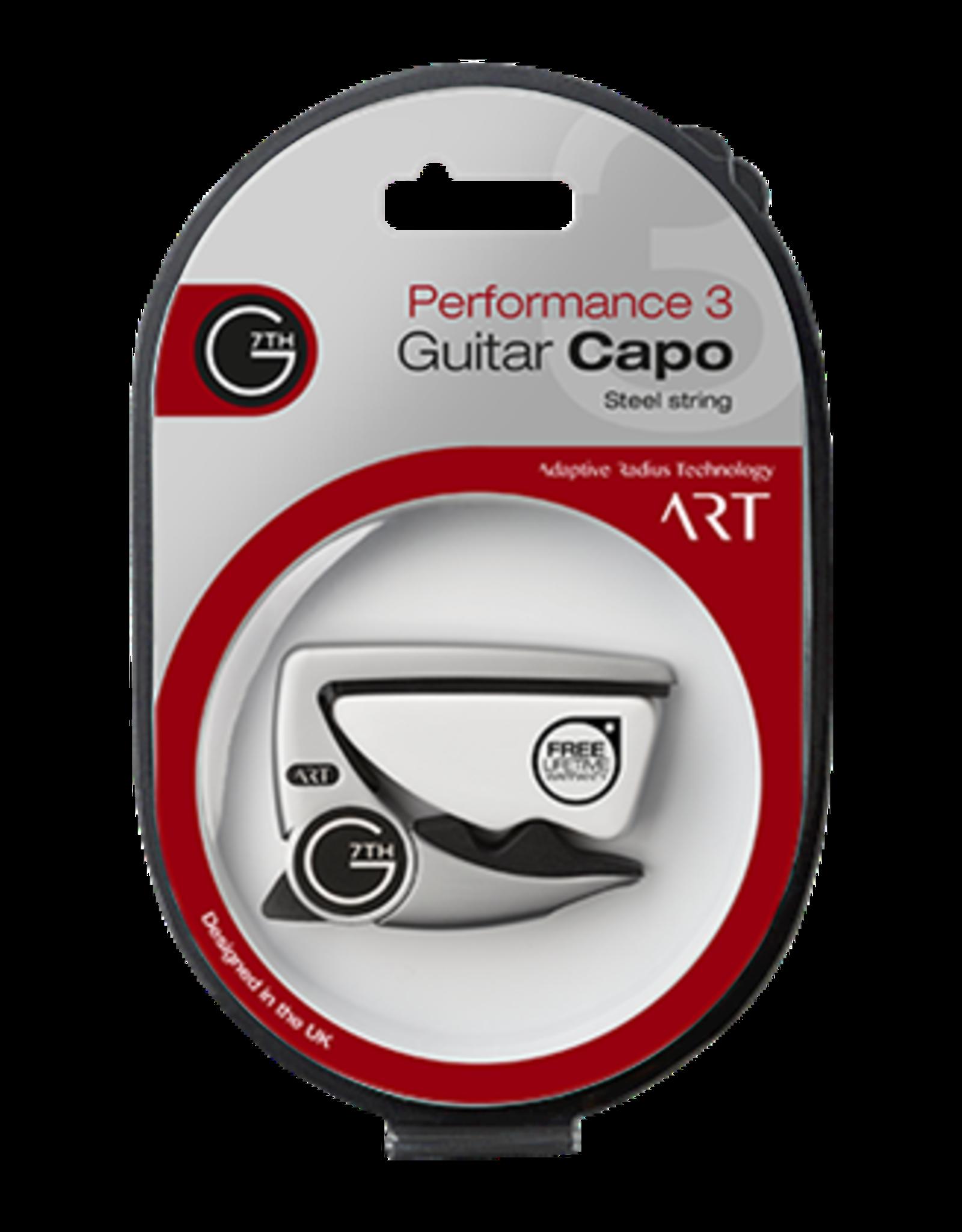 G7TH - The Capo Company G7th Performance 3 ART Capo Silver