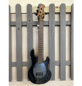 Sterling by Musicman Sterling StingRay RAY34ASH Bass Black Ash