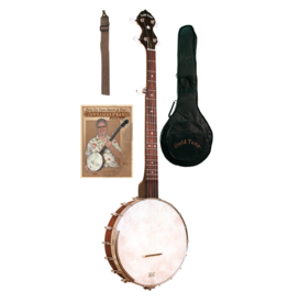 Gold Tone Cripple Creek Banjo w/Clawhammer Package
