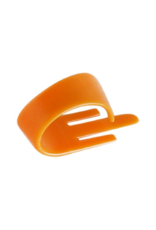 FredKelly Fred Kelly Delrin Speed Pick Medium .98mm  Orange