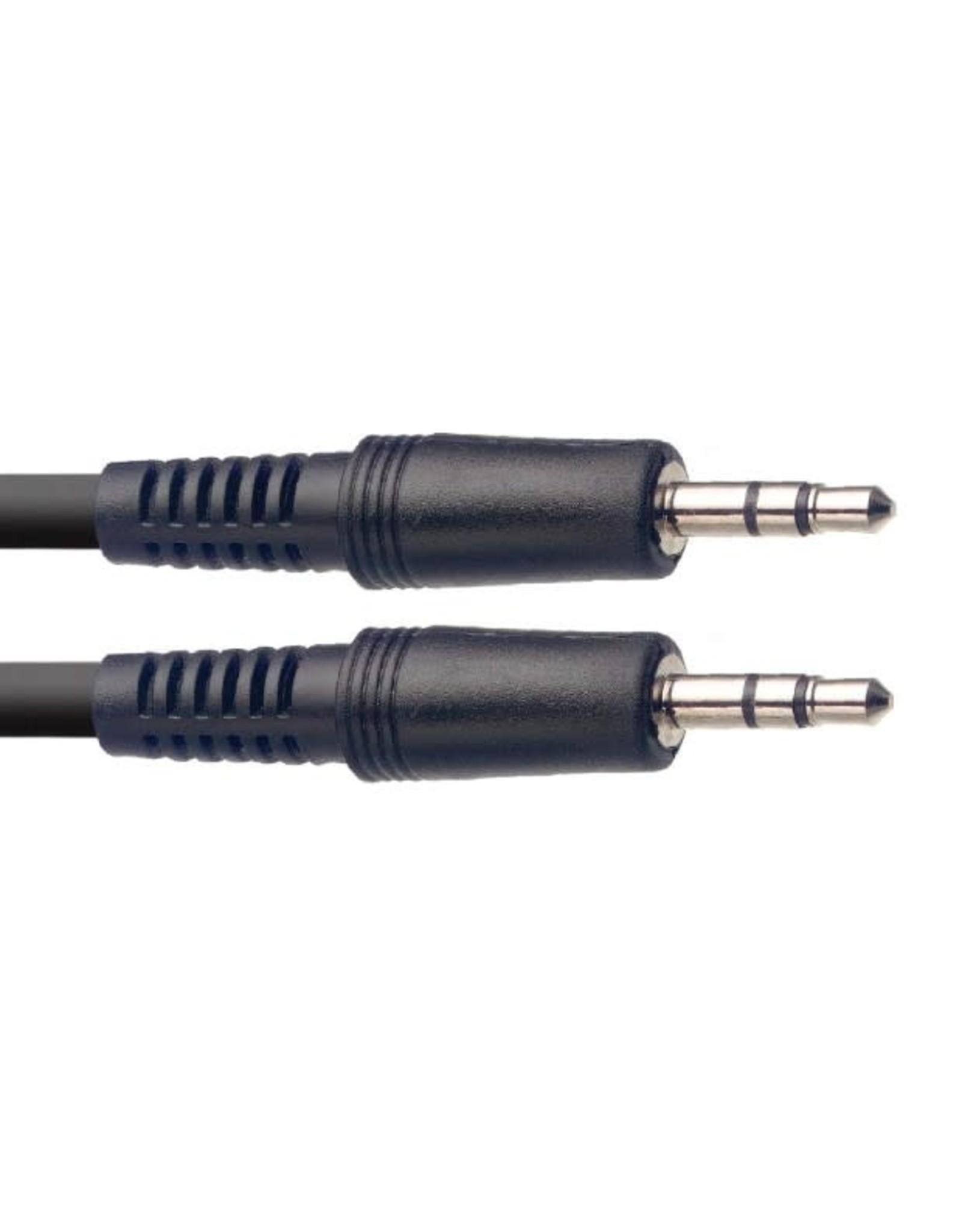 Stagg Stagg Audio Cable, Mini Jack/Mini Jack (m/m), 3 m (10')