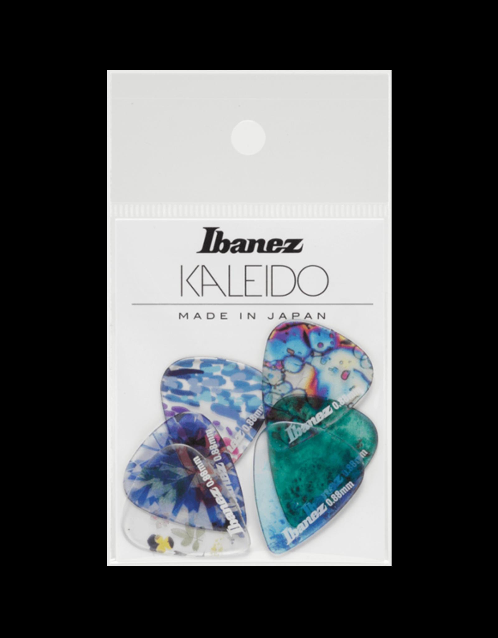 Ibanez Ibanez Kaleido Series Guitar Pick .88 Gauge 6 Pack