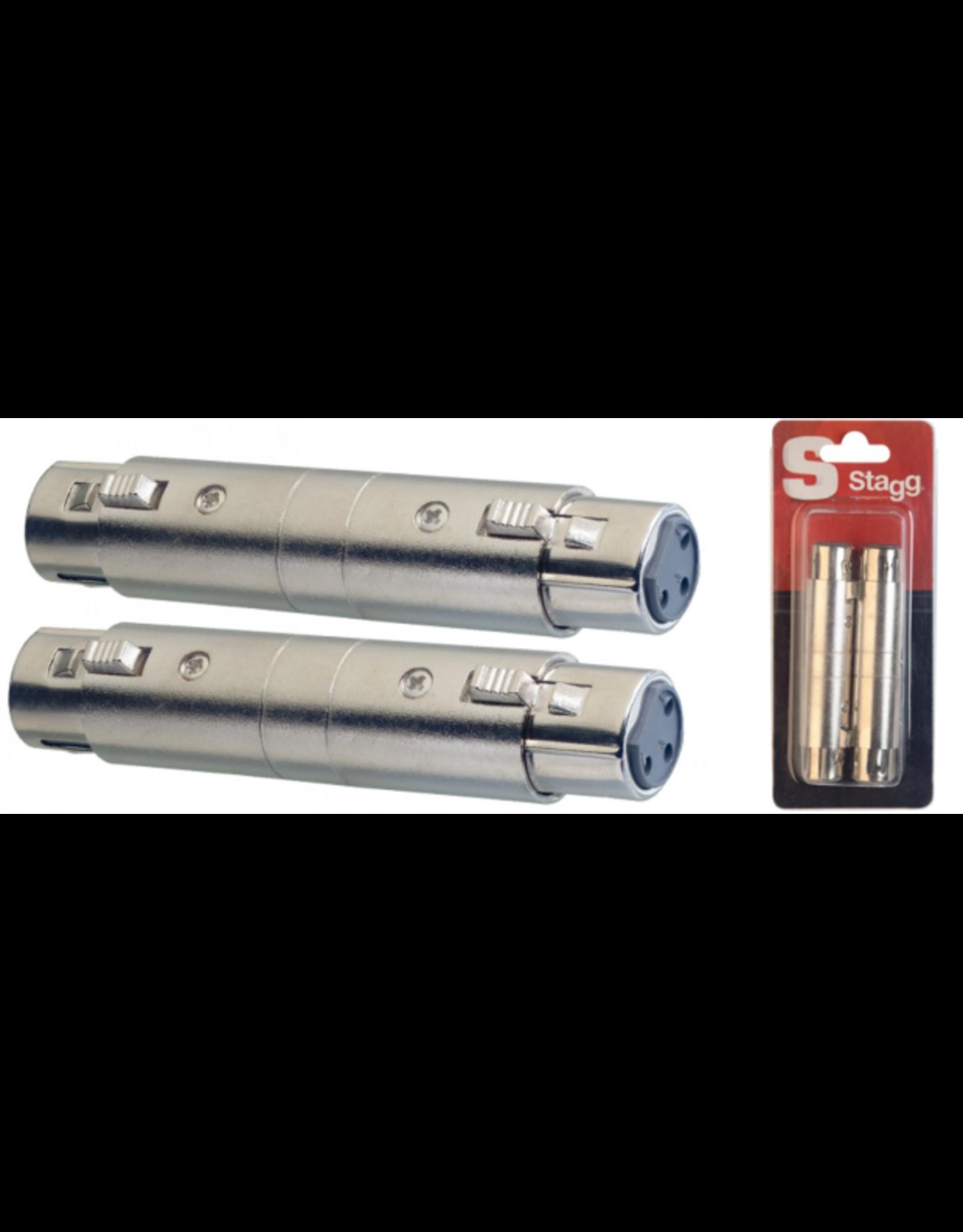 Stagg Stagg Female XLR/ Female XLR Adaptor - 2 Pack