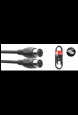 Stagg Stagg 18192 MIDI Cable, 3', Plastic Connectors